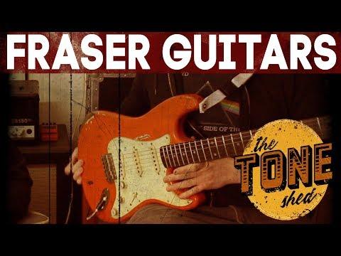 Gary Moore Custom Strat - FRASER GUITARS - DEMO