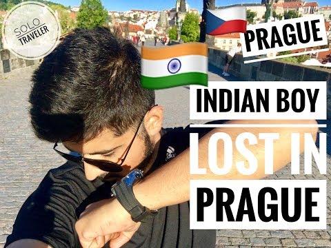 Indian Boy Lost In Prague   Czech Republic   Prague Vlog   Solo Traveler