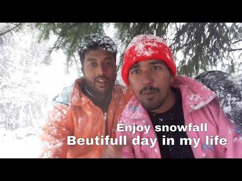 Manali / solang valley vlog : manali tourism video 2018 live snow fall