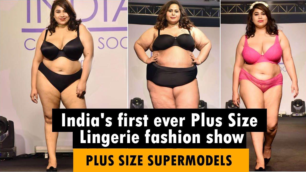 Download Plus Size Lingerie Ramp Walk | Plus Size Bikini Fashion Show I Curvy Supermodels In India