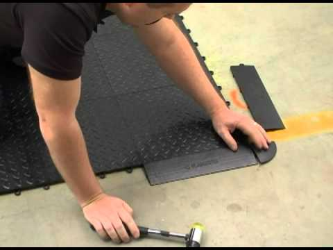 Embly Instructions For The Gladiator Tile Flooring