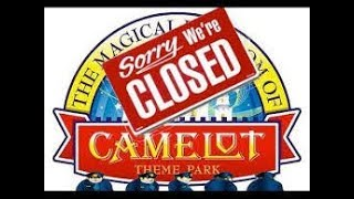 Camelot Abandoned Theme Park by drone