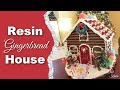 DIY Resin Gingerbread House How To
