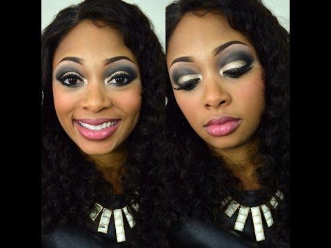New Orleans Saints Makeup Tutorial