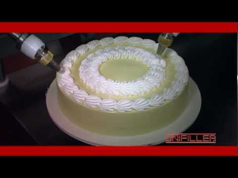 Cake Finishing Equipment   Cake Decorating from Unifiller   YouTube Cake Finishing Equipment   Cake Decorating from Unifiller