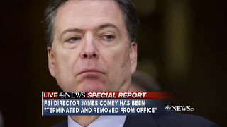 James Comey has been fired by President Trump