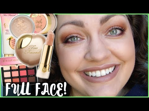 Too Faced Peaches & Cream Collection | FULL FACE First Impressions