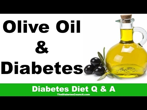 Is Olive Oil Good For Diabetes?