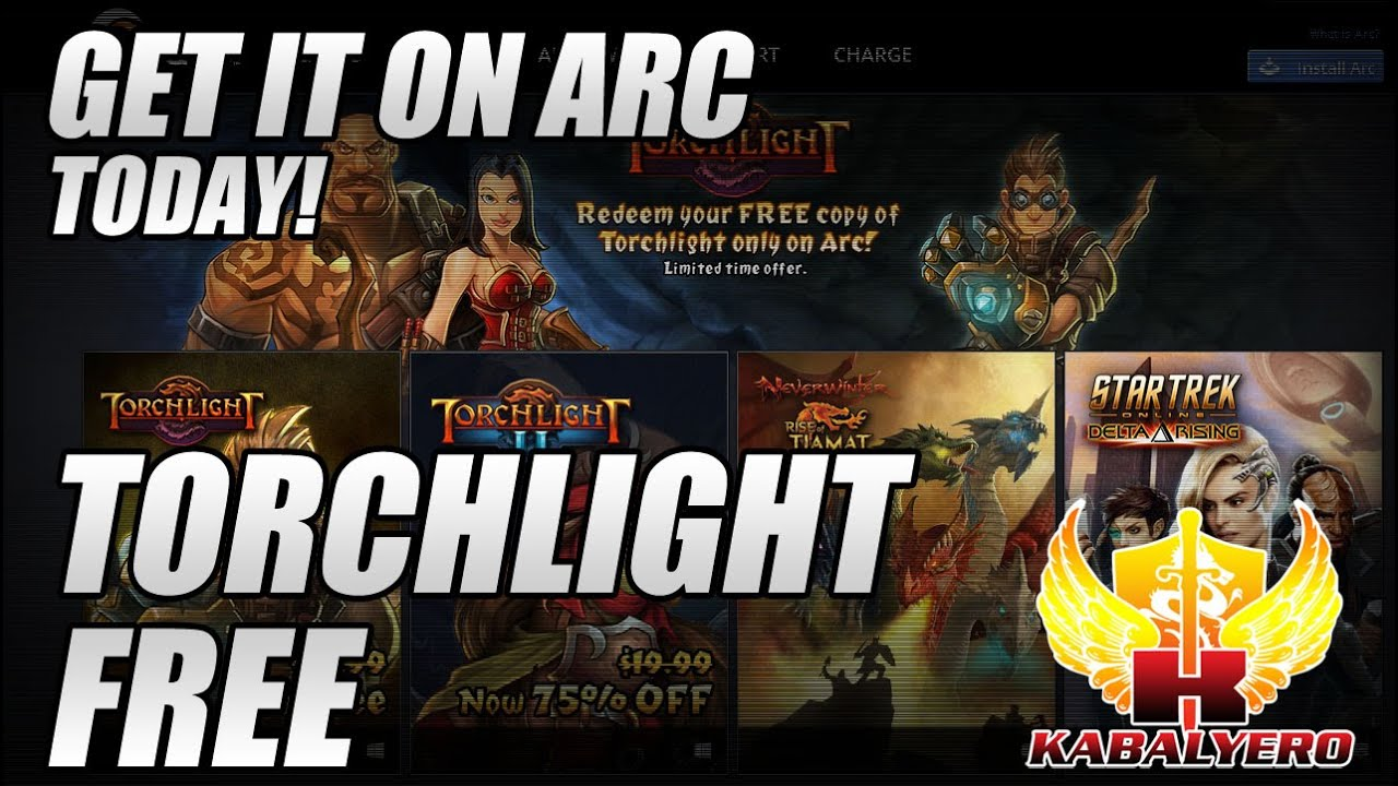 Torchlight Free, Get It On Arc Today