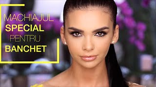 Machiajul pentru banchet | Ali Andreea Makeup Artist