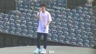 [Fancam] 140628 D.O. - Tell Me What Is Love (rehearsal) EXO 1st Concert in Chongquin