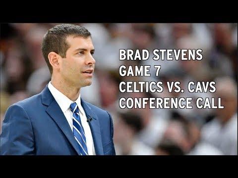 Brad Stevens Game 7 Celtics vs. Cavaliers Conference Call