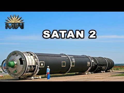RS-28 Sarmat (SATAN 2) - New Russian Heavy Intercontinental Ballistic Missile [Review]