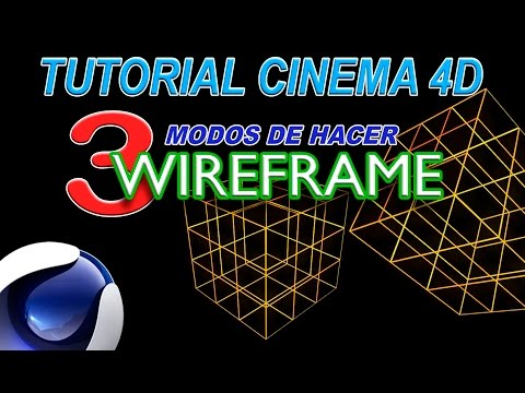 3 modos wireframe en cinema 4d youtube. Black Bedroom Furniture Sets. Home Design Ideas