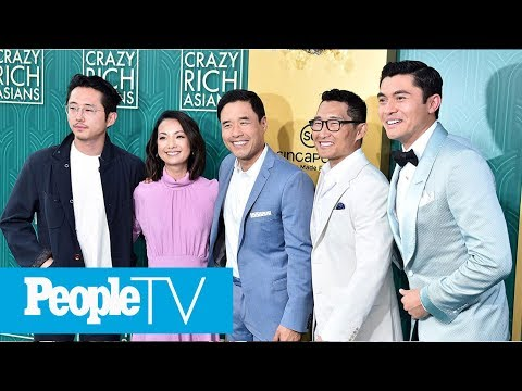 'Crazy Rich Asians' On The Carpet At LA Premiere In Millions Of Dollars' Worth Of Fashion | PeopleTV