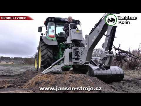 Podkop Za Traktor Jansen BHM-225 - Traktory Kolín   Www.nejlevnejsitraktory.cz