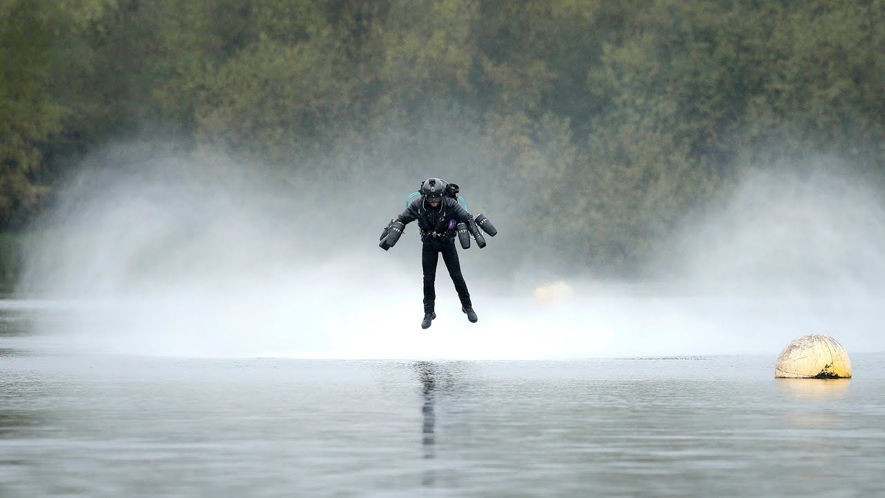 quotiron manquot flying jet suit sets guinness world record