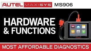Autel MaxiSys MS906 (The most affordable and complete diagnostic tool)