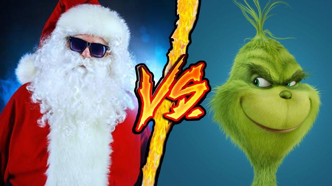 Babbo Natale VS Il Grinch - Battaglia Rap Epica - Manuel Aski