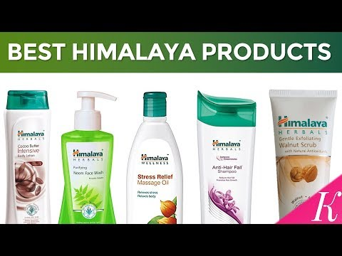 Top 10 Himalaya Products in India with Price | Best Herbal Products for Glowing Skin