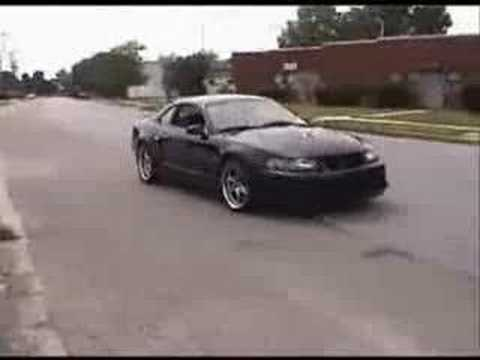 Bad Ass Mustang Cobra With Kenne Bell Supercharger YouTube