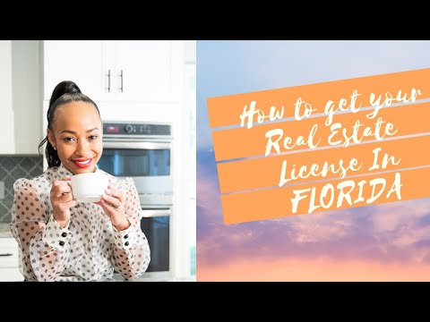 How To Get Your Florida Real Estate Sales Associate License