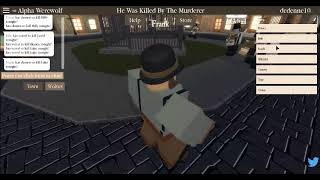 Night of the Werewolf - Roblox