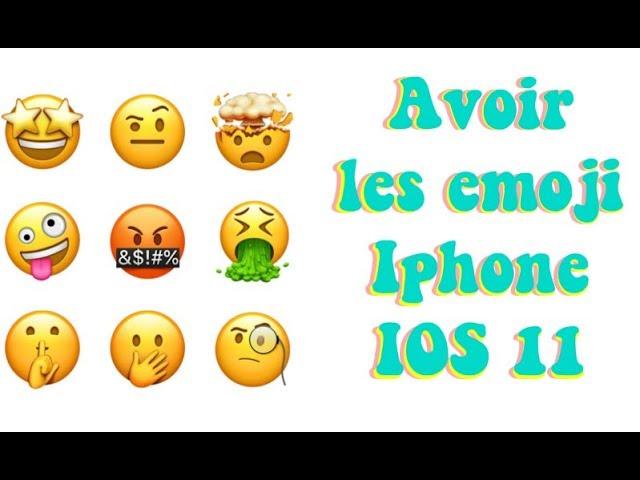 Comment Avoir Les Emojis Iphone Ios 11 Sur Huawei Facile Youtube
