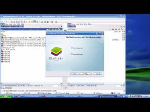 How to install BlueStack for Windows XP 32bit