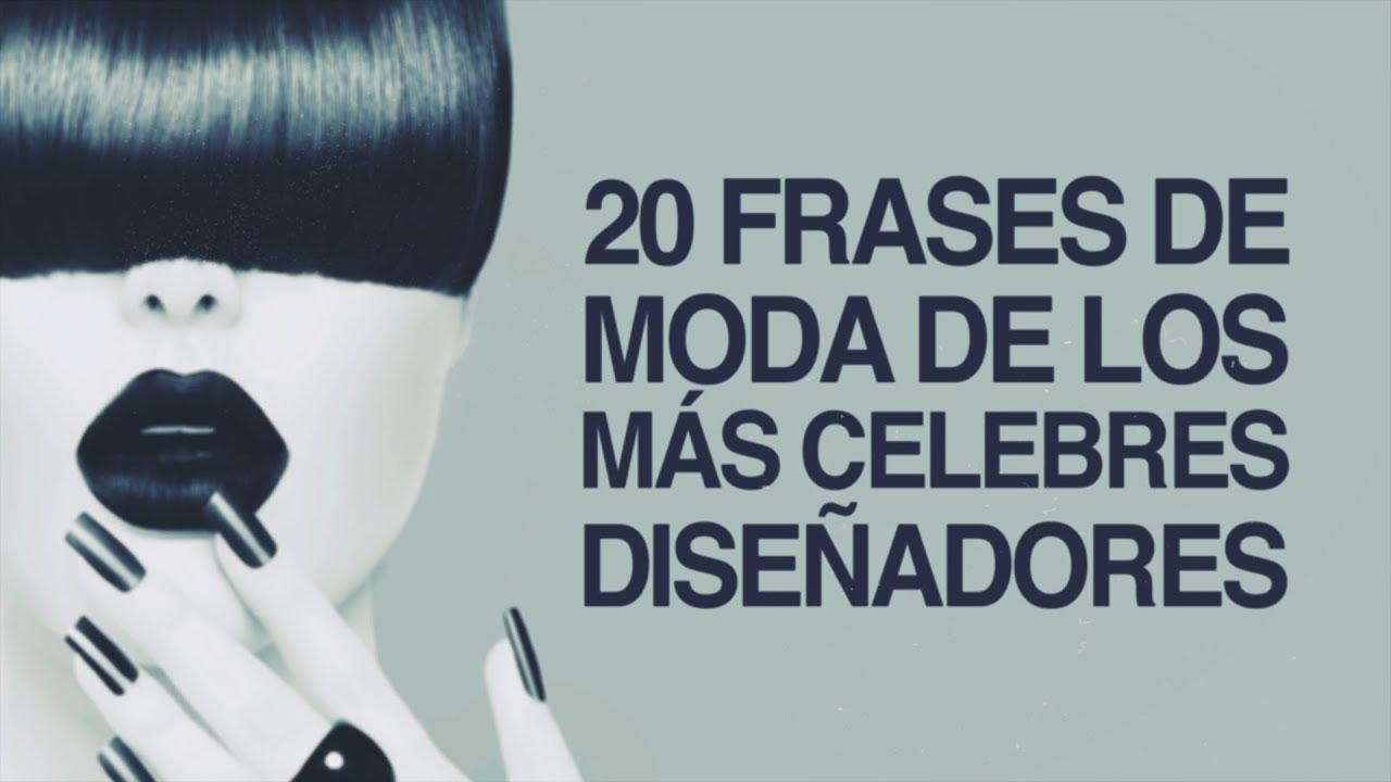 20 Frases De Moda De Los Más Célebres Diseñadores