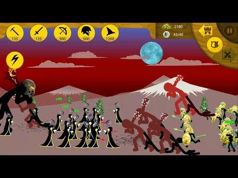 ► Giant Stickman vs Little Stickman - Stick War Legacy #2 - Survive the sowrdwrath counter attack - 동영상