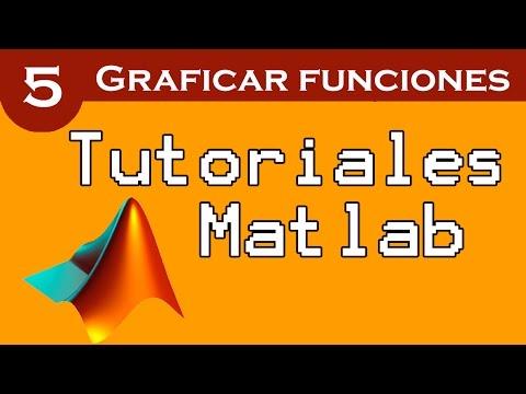 Graficar funciones en Matlab