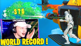J'AI BATTU LE WORLD RECORD DU PLUS LONG KILL AU SNIPER ! Fortnite chapitre 2