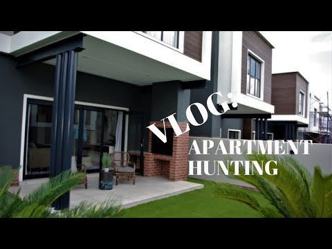 VLOG: ON THE MOVE AGAIN TOWNHOUSE/APARTMENT HUNTING IN JOHANNESBURG | Pontsho Thobejane