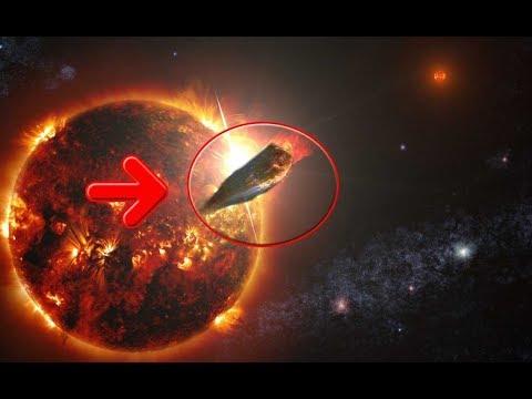 Огромный объект прошил насквозь наше солнце размером с нашу планету Наса это не комментируют