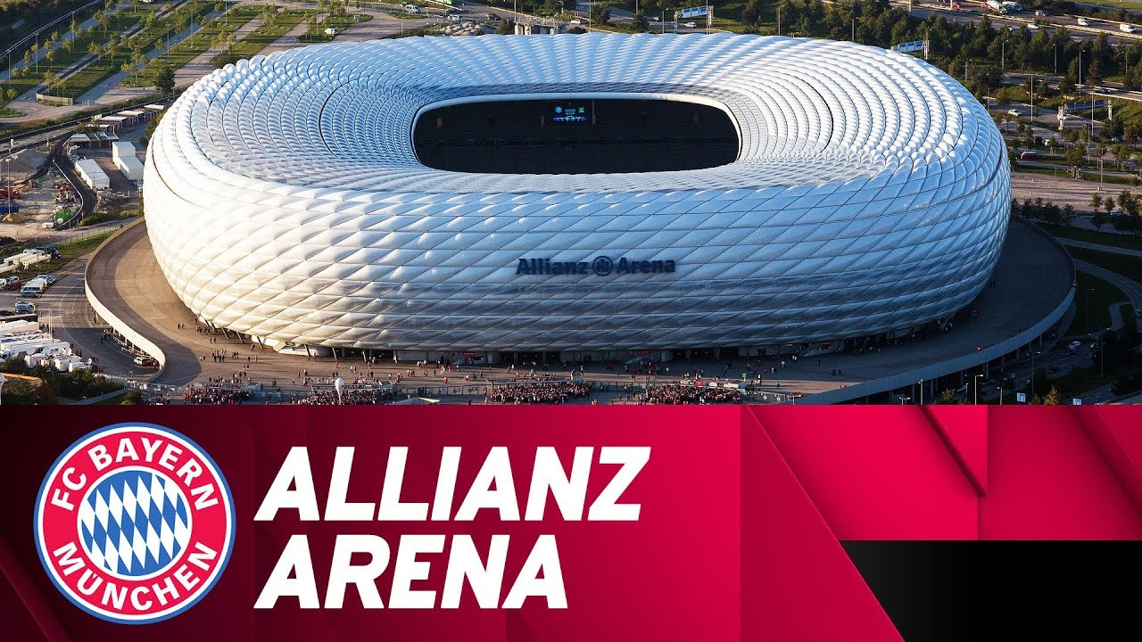 fc bayern 39 s allianz arena more than a stadium youtube. Black Bedroom Furniture Sets. Home Design Ideas