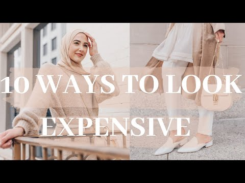 How to Look Expensive on a Budget! - YouTube