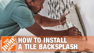 How to Install a Tile Backsplash - The Home Depot(, 2014-08-19T17:20:27.000Z)