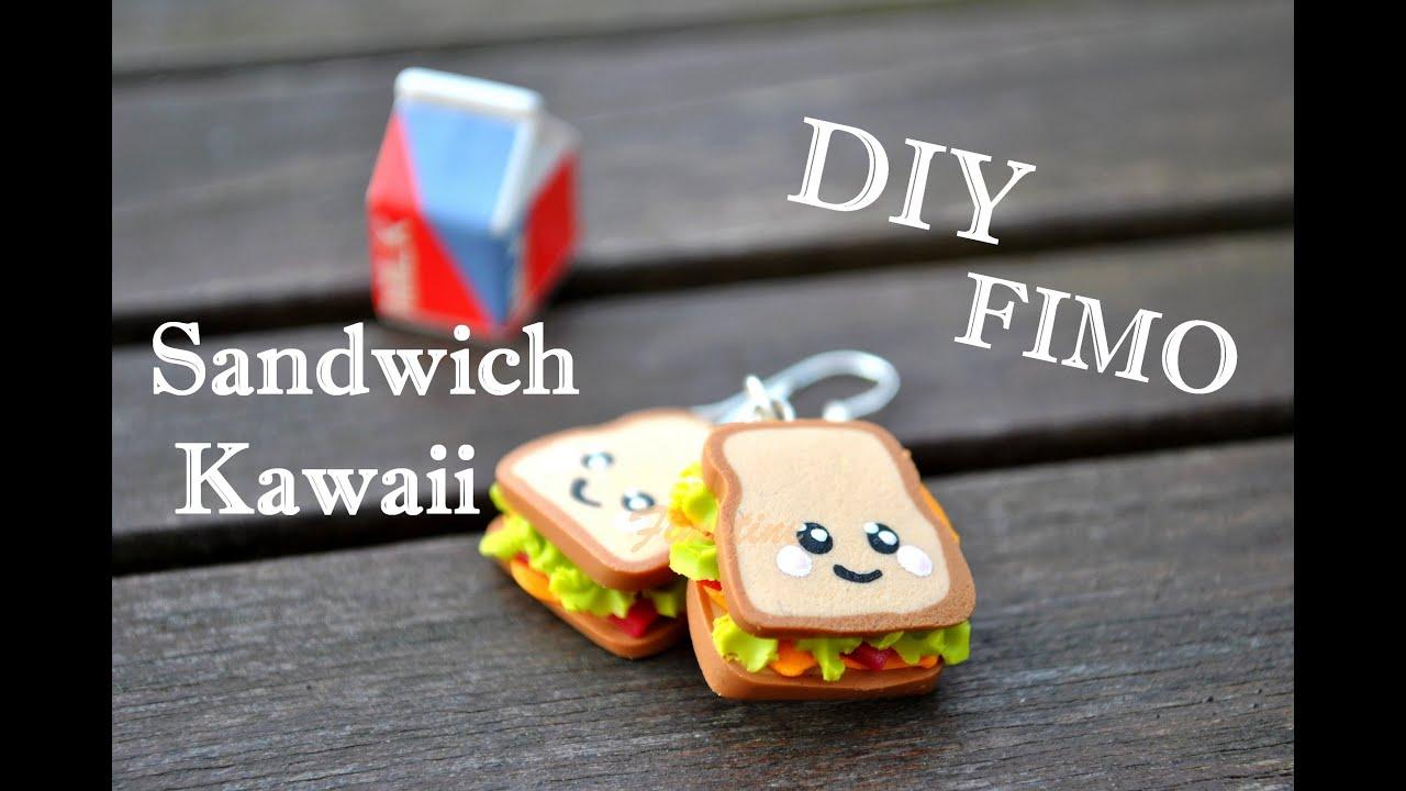 tuto fimo le sandwich kawaii youtube. Black Bedroom Furniture Sets. Home Design Ideas