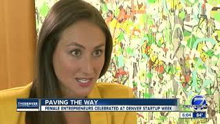 Denver Startup Week focusing on women-owned businesses and gap in investor funding