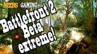 Star Wars Battlefront 2 Beta Extreme! (Strike gameplay)