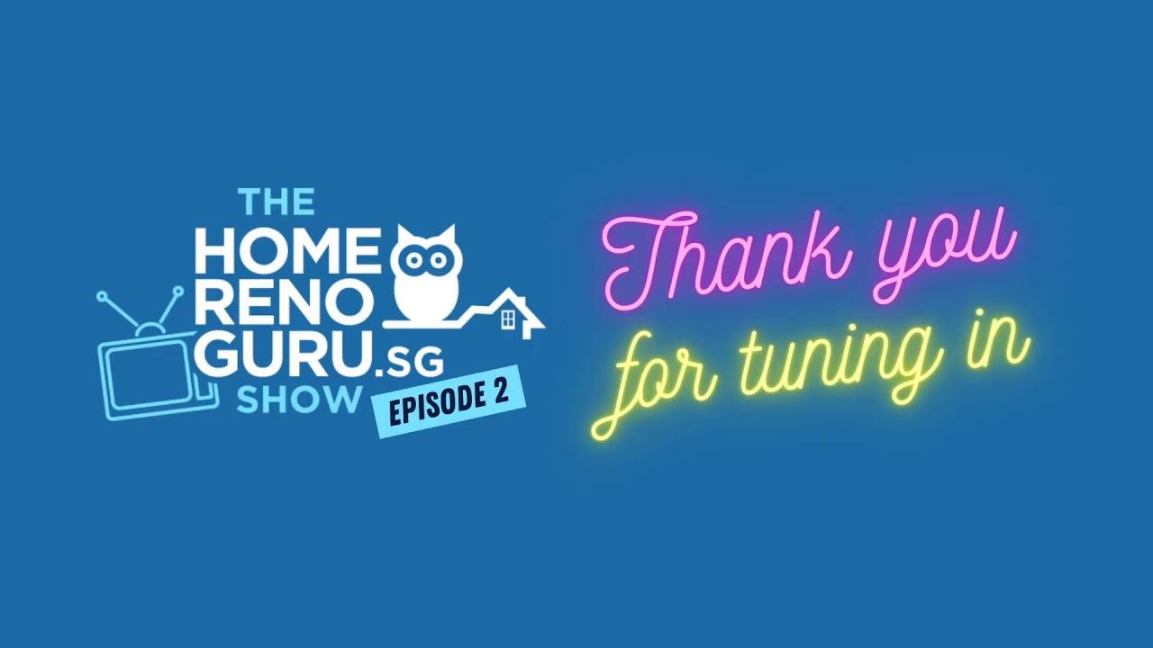 The HomeRenoGuru Show Episode 2 (ft. U-Home)