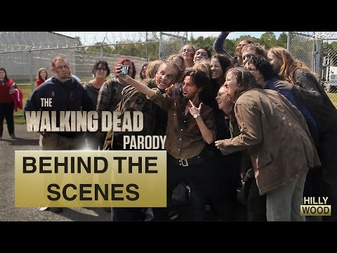 Behind The Scenes: The Walking Dead Parody by The Hillywood Show®