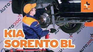 Як поміняти задні амортизатори на KIA SORENTO BL ІНСТРУКЦІЯ | AUTODOC