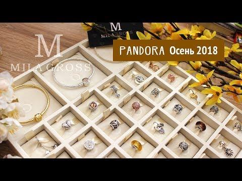 Осенняя коллекция Pandora 2018 (шармы и подвески, Демонстрация) - MilaGross