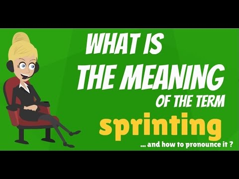 Sprinters meaning