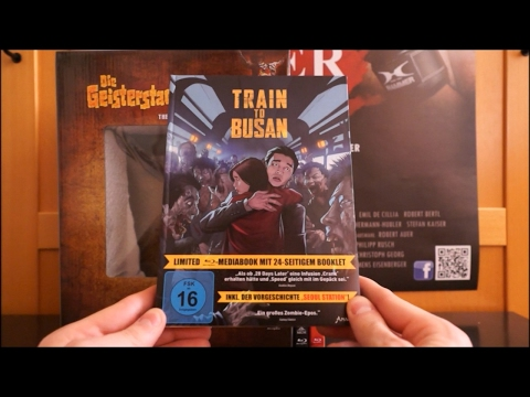 TRAIN TO BUSAN (DT Blu-ray Mediabook) / Zockis Sammelsurium Nr. 410