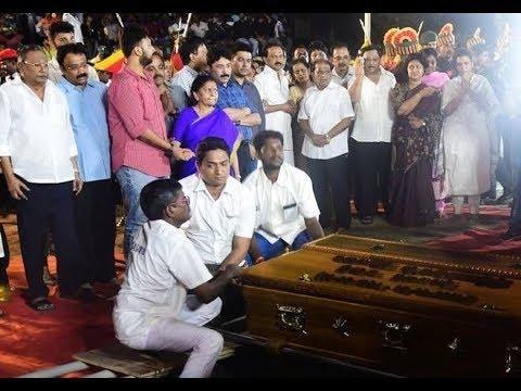 Anna Memorial 11 am to 7 pm 'Kalaignar' M Karunanidhi funeral Exclusive | sicp