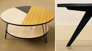 DIY Coffee Table: Not 1, Not 2... But One And A Half Ways!