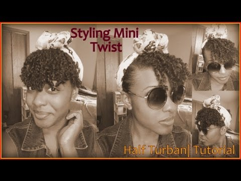 natural-hair|-how-to-wrap-a-turban-|---mini-twist-edition-+-moisture-routine-styling-&-profiling